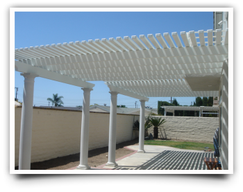 Duralum Patio Covers in Riverside CA